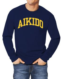 Aikido Athletic Dept Long-sleeve T-Shirt