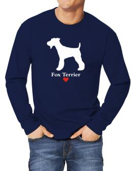 Fox Terrier love Long-sleeve T-Shirt