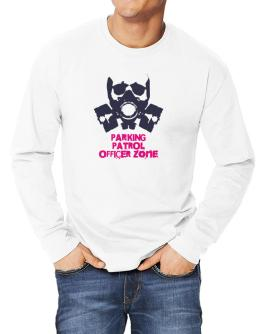 Parking Patrol Officer Zone - Gas Mask Long-sleeve T-Shirt