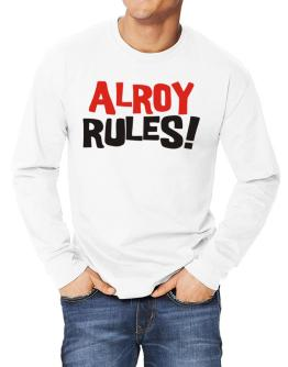 Alroy Rules! Long-sleeve T-Shirt
