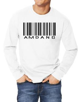 Amdang Barcode Long-sleeve T-Shirt