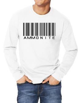 Ammonite Barcode Long-sleeve T-Shirt