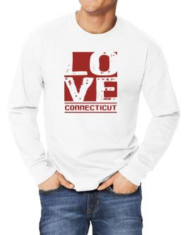 Love Connecticut Long-sleeve T-Shirt
