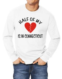 Half Of My Connecticut Long-sleeve T-Shirt