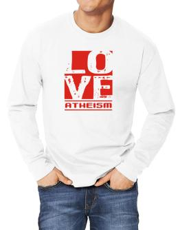 Love Atheism Long-sleeve T-Shirt
