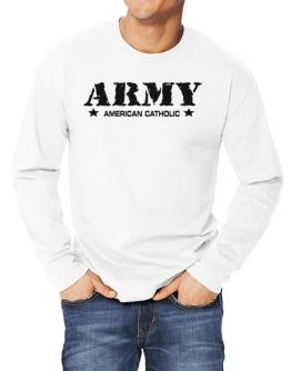 Army American Catholic Long-sleeve T-Shirt