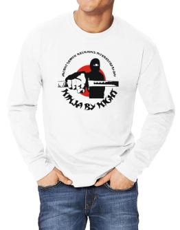 Ancient Semitic Religions Interested By Day, Ninja By Night Long-sleeve T-Shirt