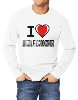 I Love Aboriginal Affairs Administrators Long-sleeve T-Shirt
