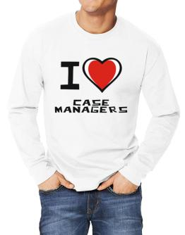 I Love Case Managers Long-sleeve T-Shirt