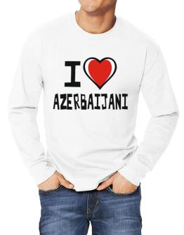 I Love Azerbaijani Long-sleeve T-Shirt