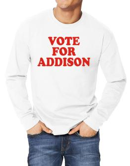 Vote For Addison Long-sleeve T-Shirt