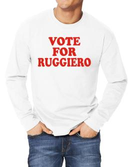Vote For Ruggiero Long-sleeve T-Shirt