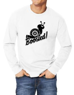 Boosted turbo snail Long-sleeve T-Shirt
