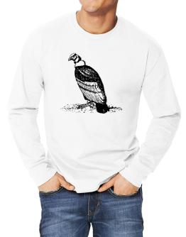 Andean Condor sketch Long-sleeve T-Shirt
