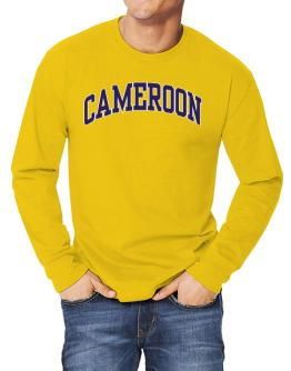 Cameroon - Simple Long-sleeve T-Shirt