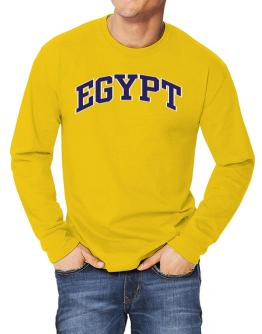 Egypt - Simple Long-sleeve T-Shirt