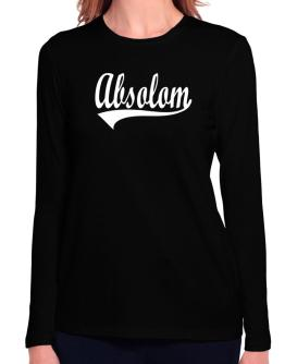 Absolom Long Sleeve T-Shirt-Womens