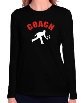 Triathlon Coach Long Sleeve T-Shirt-Womens