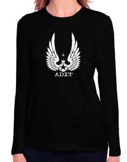 Adit - Wings Long Sleeve T-Shirt-Womens