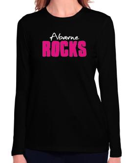 Abarne Rocks Long Sleeve T-Shirt-Womens