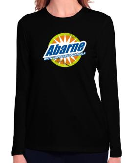 Abarne - With Improved Formula Long Sleeve T-Shirt-Womens
