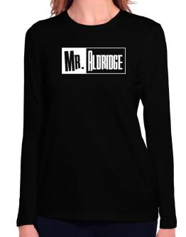 Mr. Aldridge Long Sleeve T-Shirt-Womens