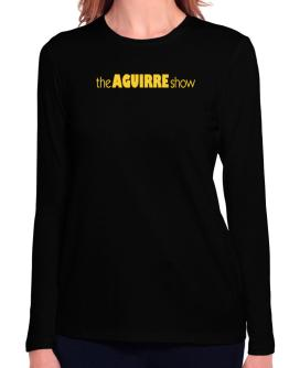 The Aguirre Show Long Sleeve T-Shirt-Womens