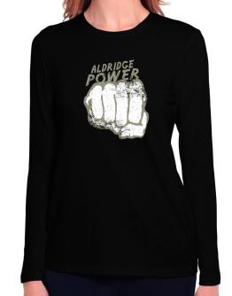 Aldridge Power Long Sleeve T-Shirt-Womens