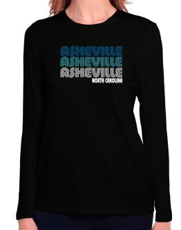 Asheville State Long Sleeve T-Shirt-Womens