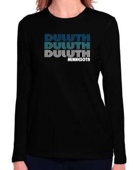 Duluth State Long Sleeve T-Shirt-Womens