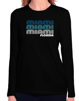 Miami State Long Sleeve T-Shirt-Womens