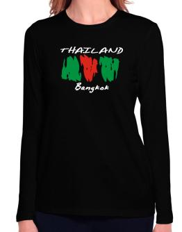 Brush Bangkok Long Sleeve T-Shirt-Womens
