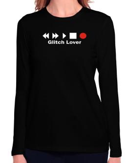 Glitch Lover Long Sleeve T-Shirt-Womens