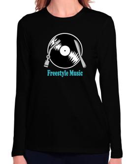 Freestyle Music - Lp Long Sleeve T-Shirt-Womens