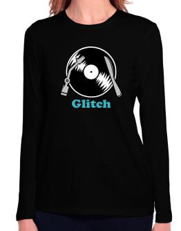 Glitch - Lp Long Sleeve T-Shirt-Womens