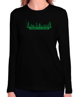 Freestyle Music - Equalizer Long Sleeve T-Shirt-Womens
