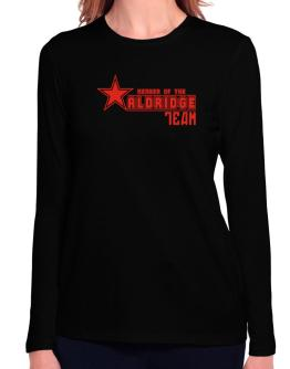 Member Of The Aldridge Team Long Sleeve T-Shirt-Womens