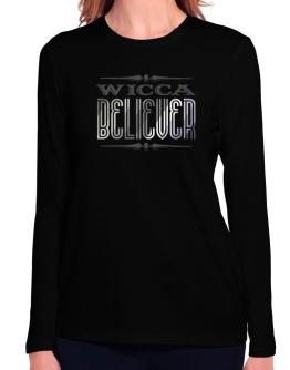 Wicca Believer Long Sleeve T-Shirt-Womens