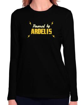 Powered By Ardelis Long Sleeve T-Shirt-Womens