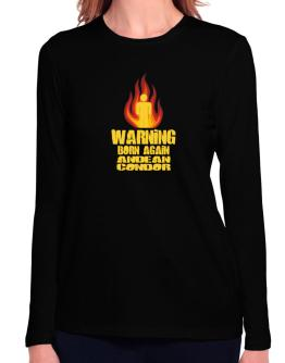 Warning - Born Again Andean Condor Long Sleeve T-Shirt-Womens