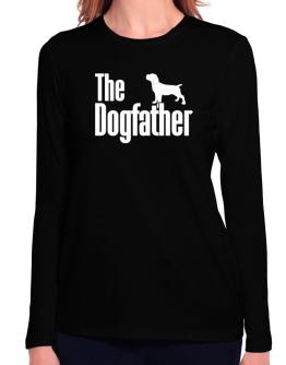 The dogfather Cane Corso Long Sleeve T-Shirt-Womens