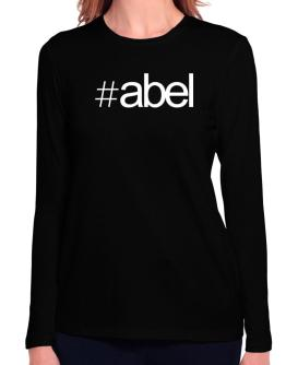 Hashtag Abel Long Sleeve T-Shirt-Womens
