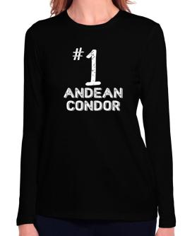 Number 1 Andean Condor Long Sleeve T-Shirt-Womens