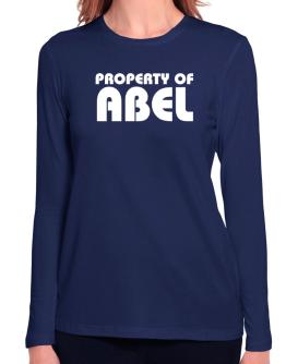 """ Property of Abel "" Long Sleeve T-Shirt-Womens"