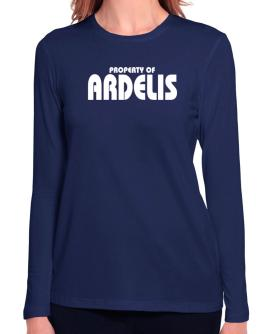 Property Of Ardelis Long Sleeve T-Shirt-Womens