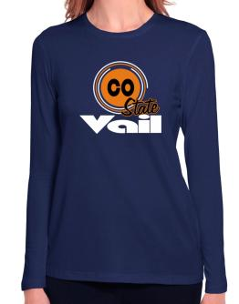 Vail - State Long Sleeve T-Shirt-Womens