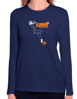 Bluegrass It Makes Me Feel Alive ! Long Sleeve T-Shirt-Womens