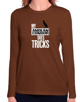 My Andean Condor does tricks Long Sleeve T-Shirt-Womens