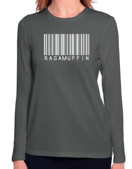 Ragamuffin Barcode Long Sleeve T-Shirt-Womens