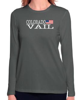 Vail State Long Sleeve T-Shirt-Womens